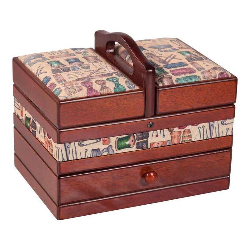 costureros antiguos de madera