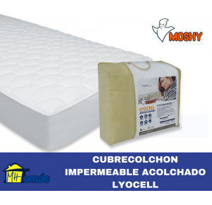 MOSHY CUBRECOLCHON IMPERMEABLE LYOCELL