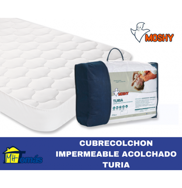MOSHY PROTECTOR CUBRECOLCHON IMPERMEABLE TURIA