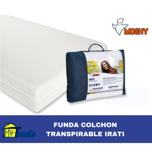 MOSHY FUNDA COLCHON TRANSPIRABLE IRATI