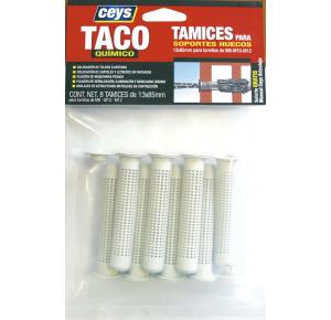 CEYS TAMICES PARA SOPORTES HUECOS 13X85MM TACO QUIMICO