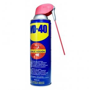 WD-40 SPRAY ACEITE LUBRICANTE MULTIUSOS 500ML DIFUSOR